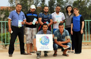 Formation d'agents de suivi sur le terrain à Akid Lotfi